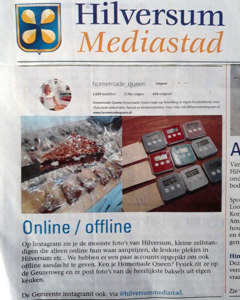 artikel in Hilversum Mediastad